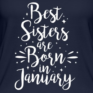 Best sisters are born in January - Women's Organic Tank Top