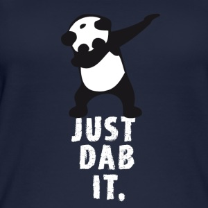 dab just panda dabbing dub dance cool LOL funny - Women's Organic Tank Top