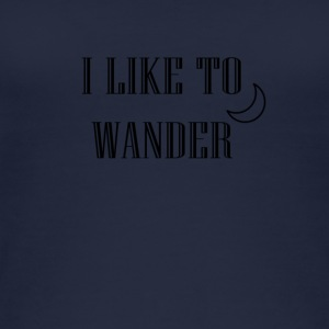 I like to wander - Women's Organic Tank Top