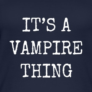 it's a vampire thing - Women's Organic Tank Top