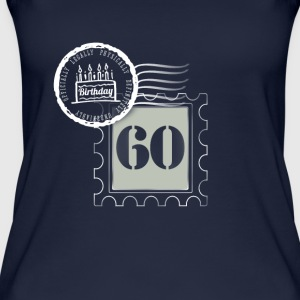 60th birthday 60 years congratulatory gift tag - Women's Organic Tank Top