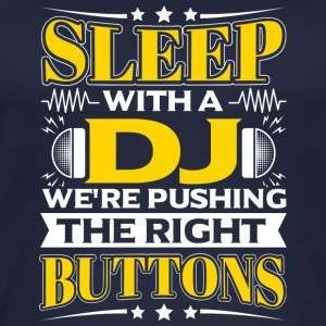 SLEEP WITH A DJ - PUSHING THE RIGHT BUTTONS - Frauen Bio Tank Top
