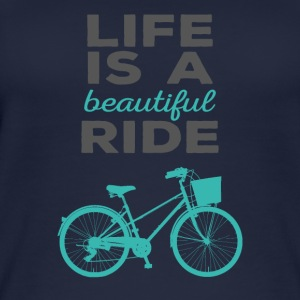 Bicycle: Life is a beautiful ride - Women's Organic Tank Top