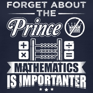 Mathematics FORGET PRINCE - Women's Organic Tank Top