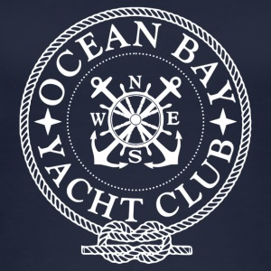 Yacht Club Logo - Øko-singlet for kvinner