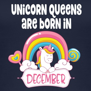Unicorn Queens er født i december - Øko tank top til damer