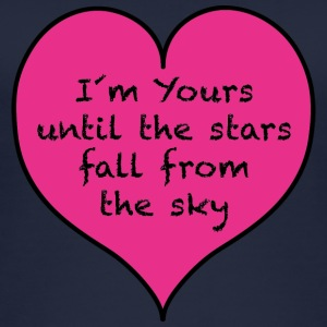 I´m yours until the stars fall - Frauen Bio Tank Top