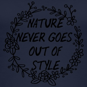 Spring Break / Spring Break: Nature Goes Never Out - Øko-singlet for kvinner