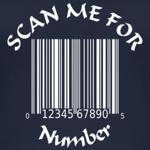 Scan for Number - Frauen Bio Tank Top