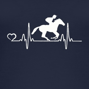 Horse Racing - Heartbeat - Women's Organic Tank Top