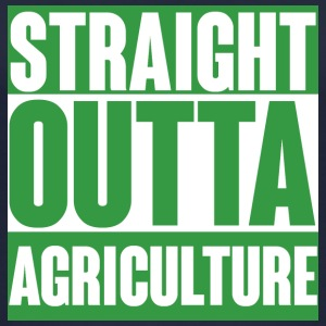 Farmer / Landwirt / Bauer: Straight Outta Agricult - Frauen Bio Tank Top