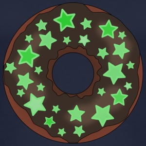 Donut with stars - Women's Organic Tank Top