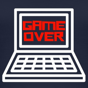 Game Over Shirt Gamer - Top da donna ecologico