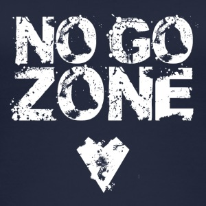 NO GO ZONE - Vrouwen bio tank top