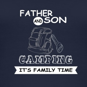 Far og søn - Camping - Øko tank top til damer