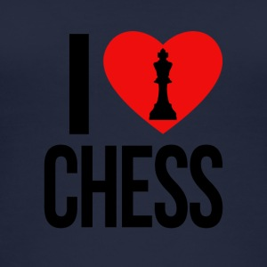 I LOVE CHESS - Women's Organic Tank Top