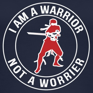 I'm a Warrior, Not a Worrier - Women's Organic Tank Top