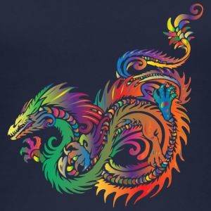 colorful dragon - Women's Organic Tank Top