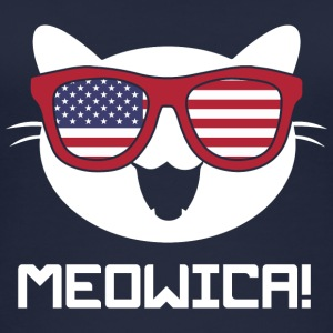 Kat! Kat! Amerika USA! Cat lovers! sjovt! - Øko tank top til damer