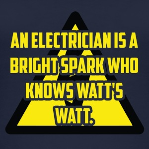 Electrician: An Electrician is a bright spark who - Women's Organic Tank Top