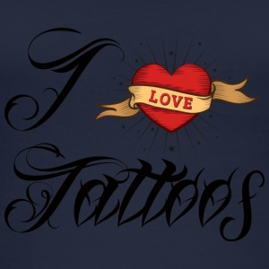 Tatovering / Tatovering: I Love Tattoos - Øko tank top til damer