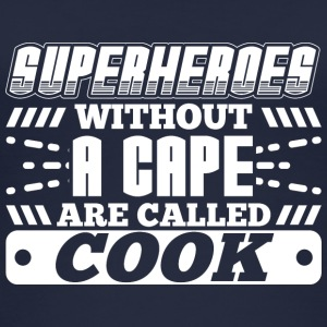 SUPERHEROES COOK - Frauen Bio Tank Top
