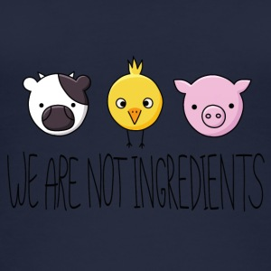 Vegan - We are not ingredients - Women's Organic Tank Top
