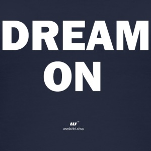 Dream on (wit) - Vrouwen bio tank top