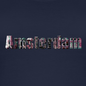 «Amsterdam» Digitalart - Women's Organic Tank Top