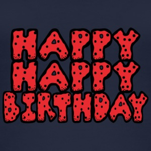 happy birthday - Vrouwen bio tank top