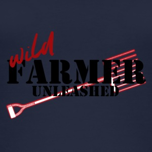 Farmer / Landwirt / Bauer: Wild Farmer Unleashed - Frauen Bio Tank Top