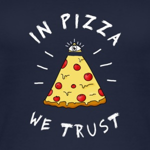 pizza fast food liefdevolle oog piramide Illuminati LOL - Vrouwen bio tank top