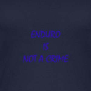 enduro is not a crime - Women's Organic Tank Top
