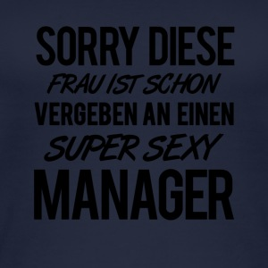 SUPER SEXY MANAGER - Frauen Bio Tank Top