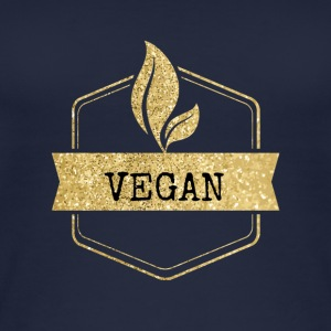 Golden Vegan vegetarer Design - Øko tank top til damer
