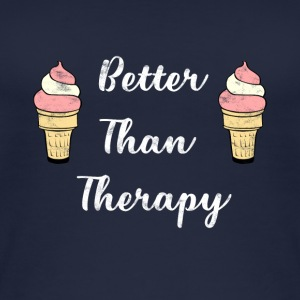 Ice - Better Than Therapy - Ice Cream - Women's Organic Tank Top