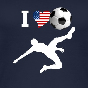 I Love Soccer football crasher Tor usa LOL f - Women's Organic Tank Top