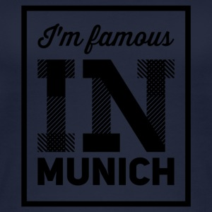 In the famous in munich - Women's Organic Tank Top