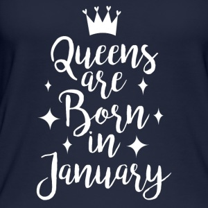 Queens are born in January - Frauen Bio Tank Top