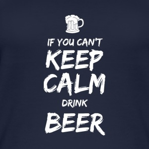 IF YOU CAN NOT KEEP CALM DRINK BEER - Women's Organic Tank Top