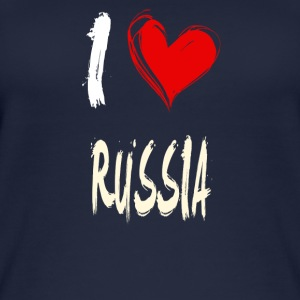 I love russia - Women's Organic Tank Top