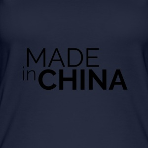 Made in China - Ekologisk tanktopp dam