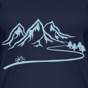 Mountainbike Trail - Frauen Bio Tank Top