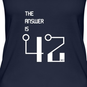 The Answer is 42 - Women's Organic Tank Top