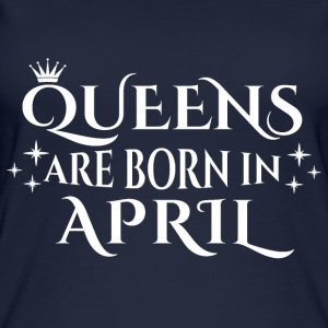 Queens are born in April - Women's Organic Tank Top