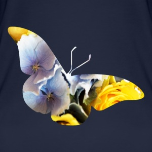 flower butterfly - Women's Organic Tank Top
