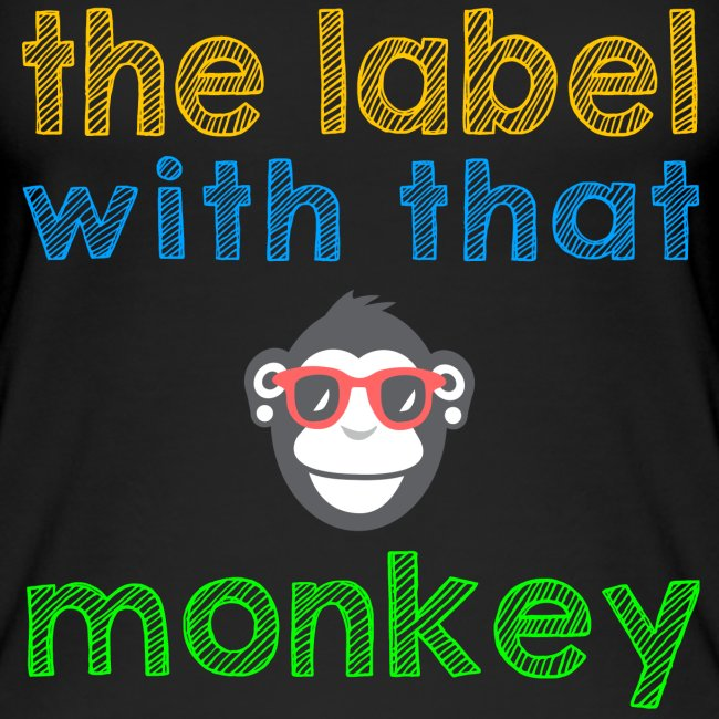 the label with that monkey