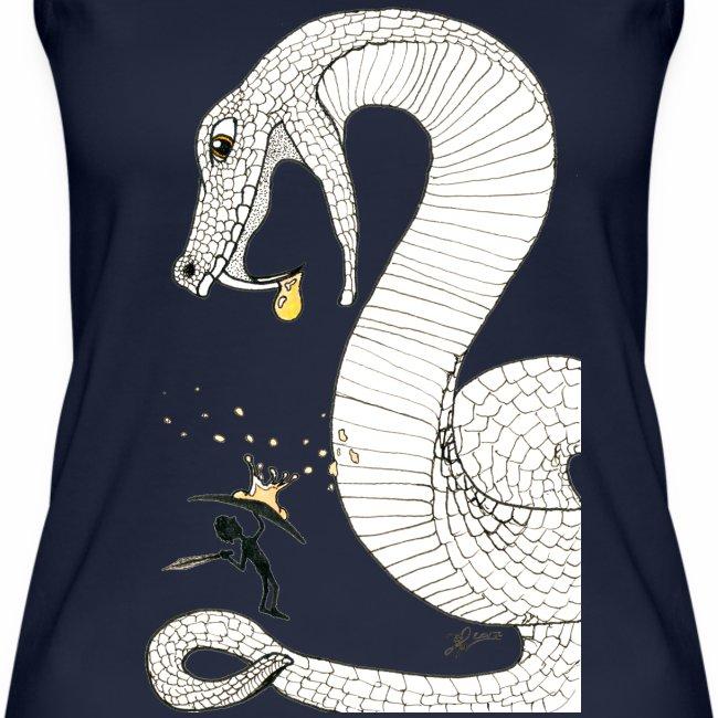 Poison - Combat contre un serpent venimeux géant