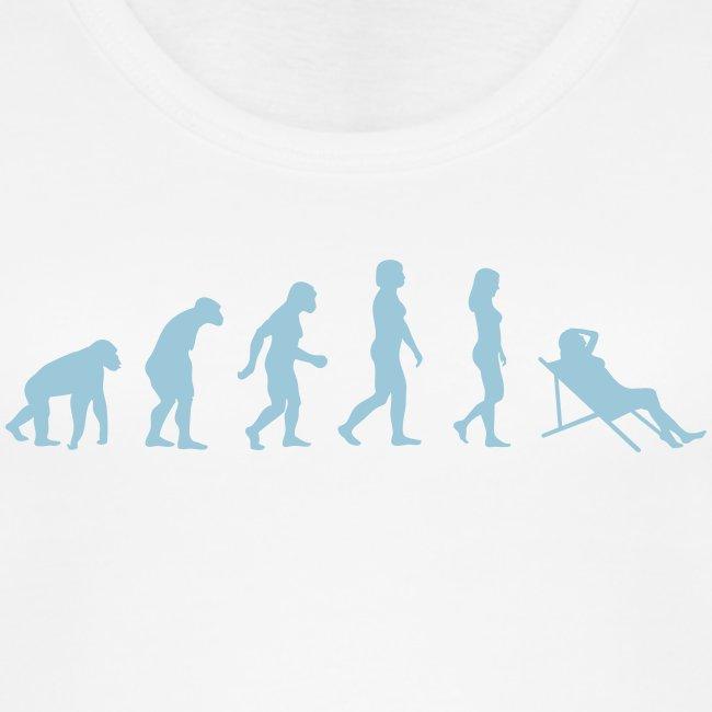 Evolution Urlauberin