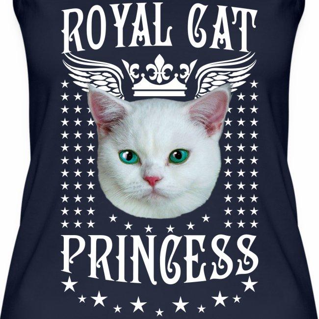 26 Royal Cat Princess white feine weiße Katze